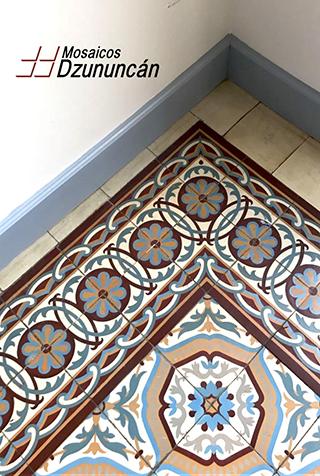 Mosaicos de pasta Dzununcan